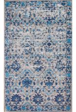 Rugs Avocado Vintage Cotton 2 x 8 Shondells Crystal Blue