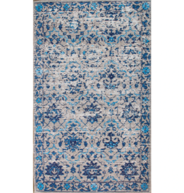 Rugs Avocado Vintage Cotton 2 x 8 Shondells Crystal Blue
