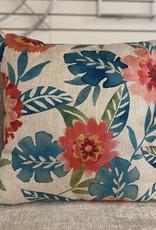 Cushions Nutcracker Teal Pink Flower