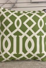 Cushions 95&Co Green Geometric