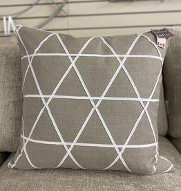 Cushions 95&Co Taupe Geometric