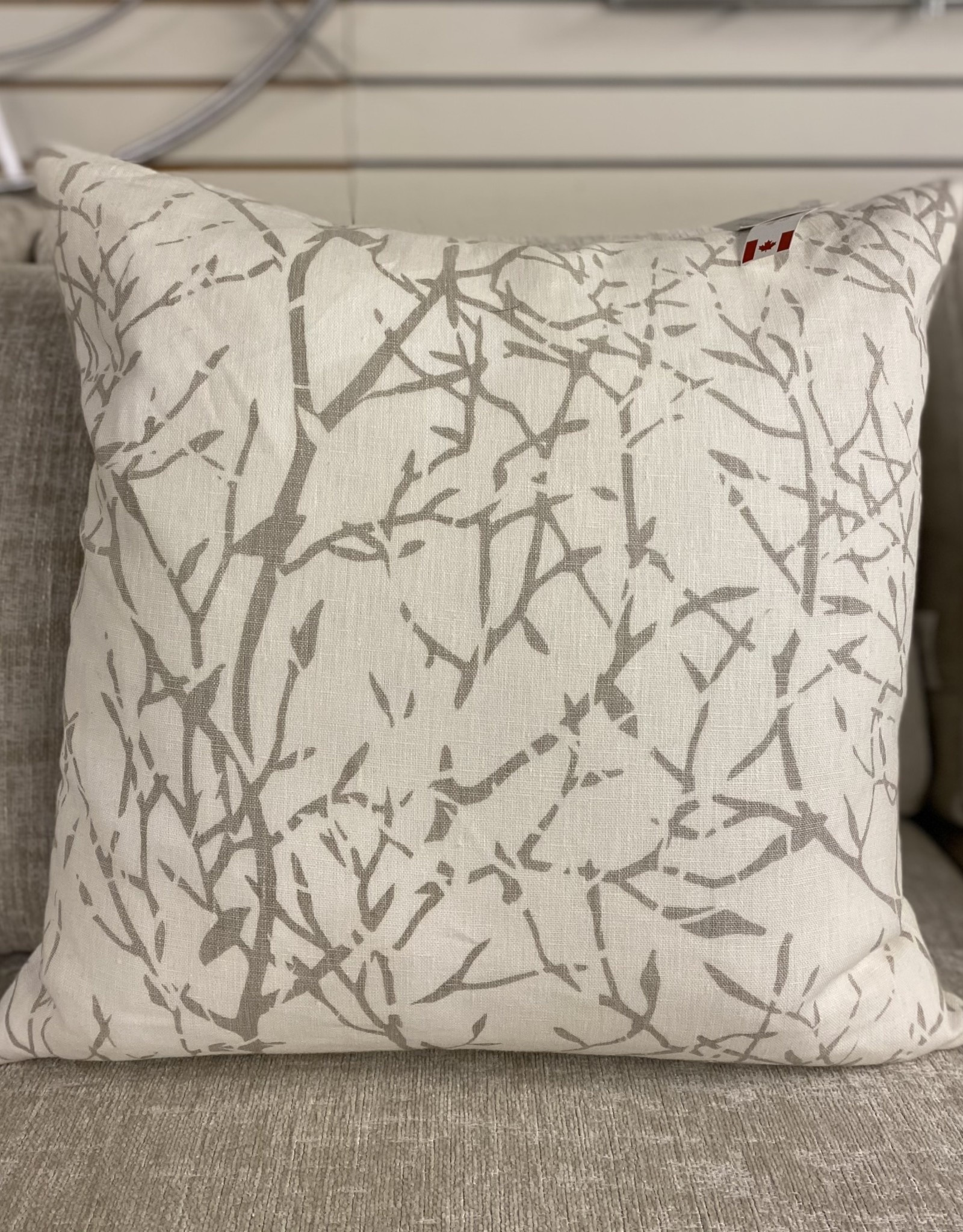 Cushions Home Details Taupe Branches