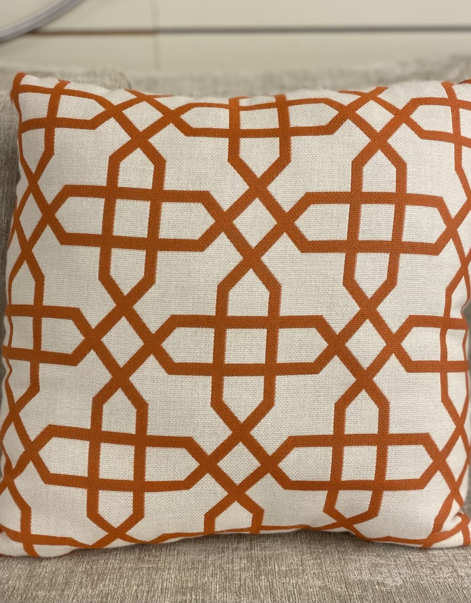 Ratana Cushions Ratana 16 inch Toss FO7074 Bevel Mandarin
