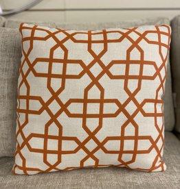 Ratana Cushions Ratana 16 inch Outdoor FO7074 Bevel Mandarin