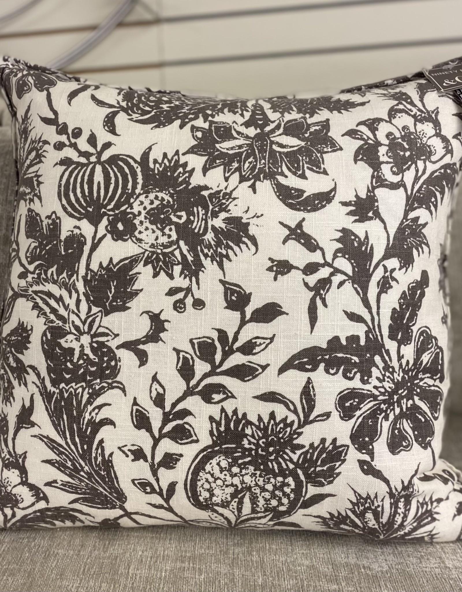 Cushions 95&Co Taupe Pomegranite