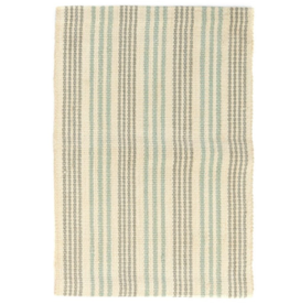 Rugs PC Woven Jute/Latex/TRQ 2' x 7'