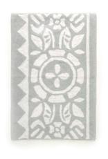 "Bath Mat PC Floral Light Grey 24"" x 36"""