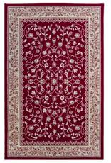 Rugs Avocado Artificial Silk 2'4 x 7'3 Sarook Red