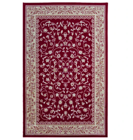 Rugs Avocado Artificial Silk 2'4 x 7'3 Sarook Red