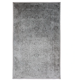 Rugs Avocado Artificial Silk 2'4 x 7'3 Centennial Silver