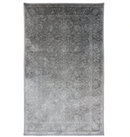 Rugs Avocado Artificial Silk 2'4 x 7'3 Centennial Slate Gray