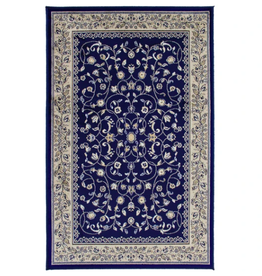 Rugs Avocado Artificial Silk 2'4 x 7'3 Sarook Navy