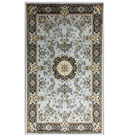 Rugs Avocado Artificial Silk 2'4 x 7'3  Pearl Gray
