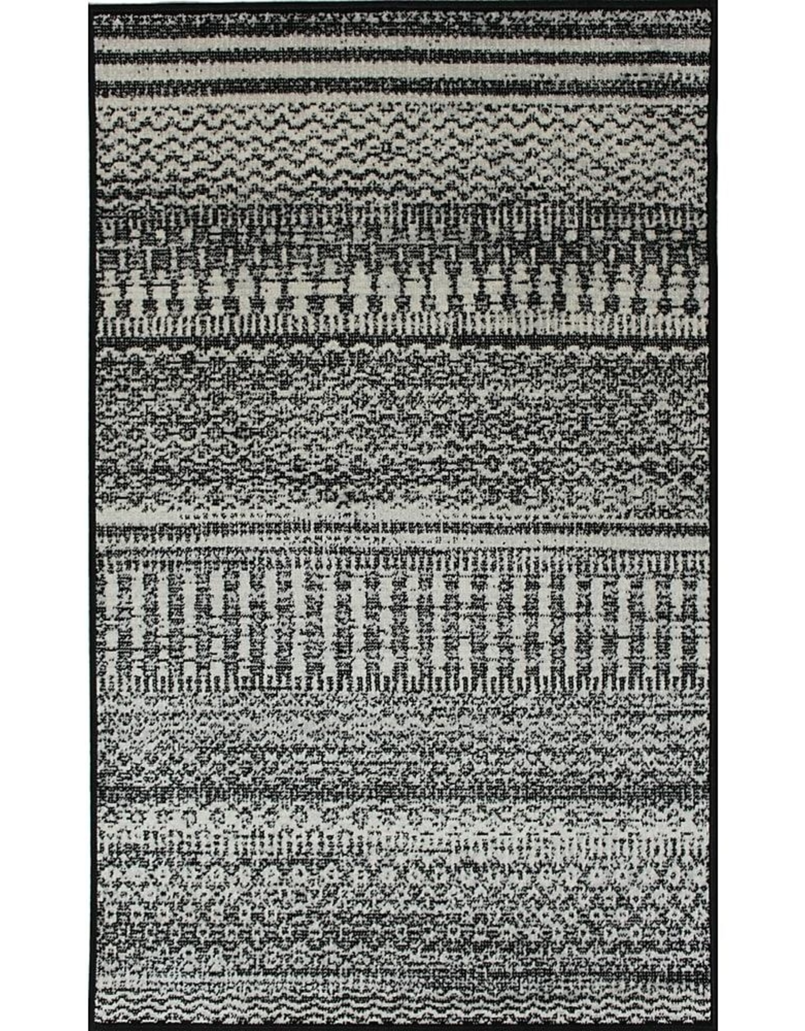 Rugs Avocado Artificial Silk 2'4 x 7'3  Antique Gray