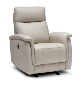 Stylus Stylus Malibu Power Recliner Foca Grey
