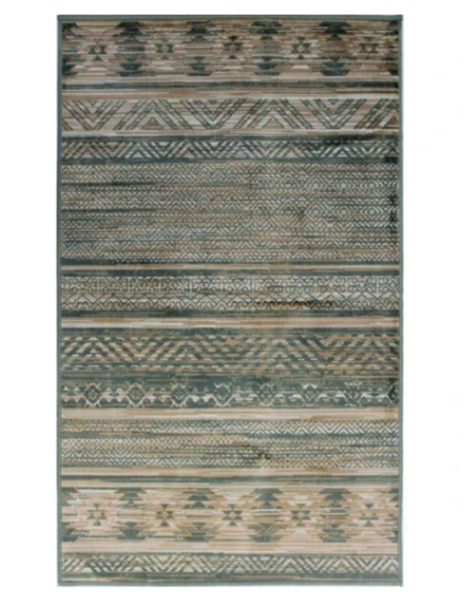 Rugs Avocado Artificial Silk 2'4 x 3'7 Ariana Green