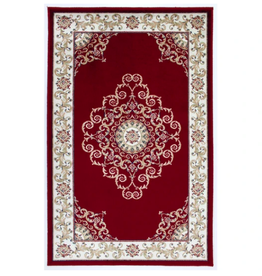 Rugs Avocado Artificial Silk 2'4 x 3'7 Crown Red