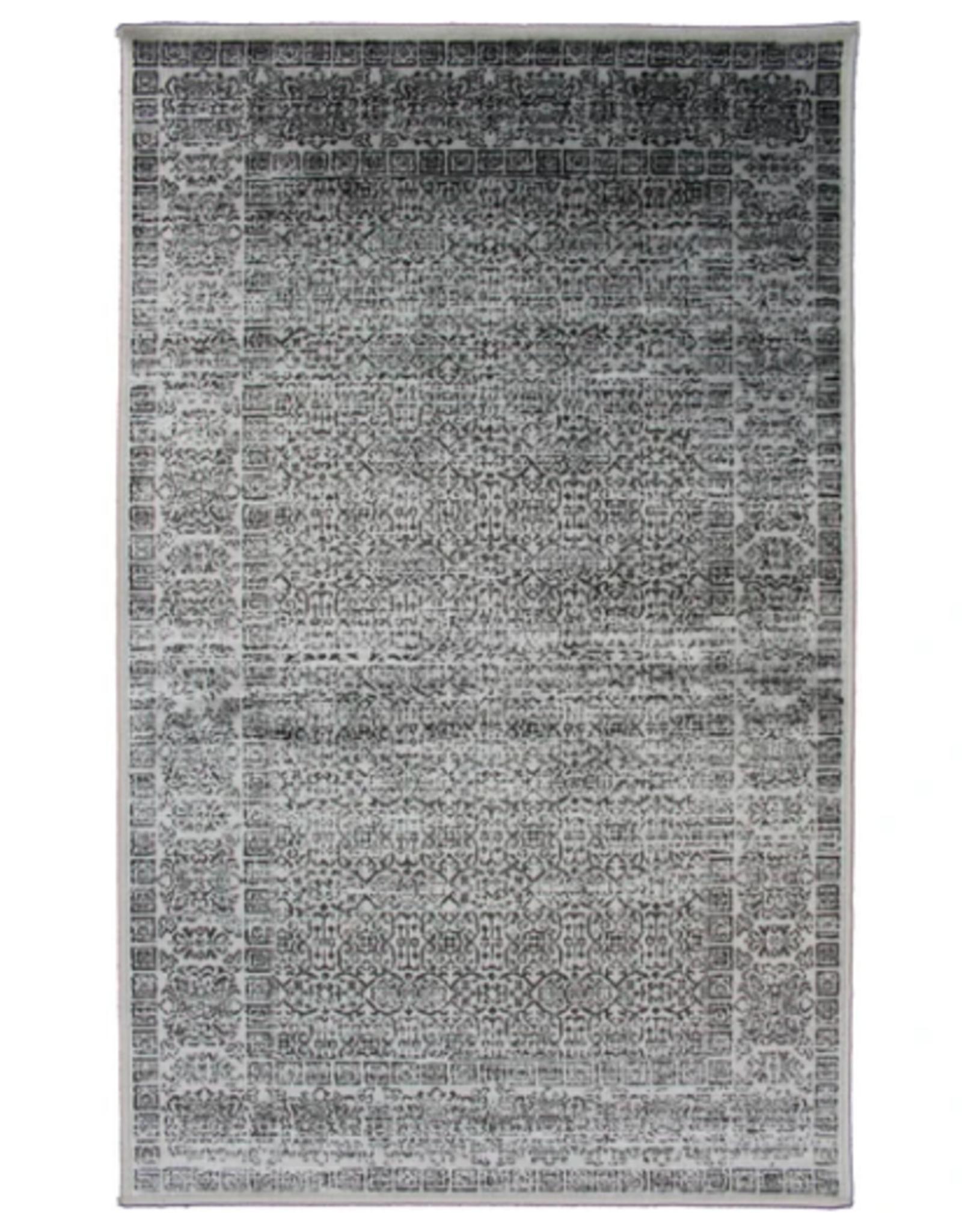 Rugs Avocado Artificial Silk 2'4 x 3'7 Azura Silver / Anthracite