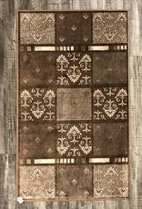 Rugs Avocado Artificial Silk 2'4 x 3'7 Everest Mocha