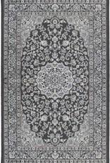 Rugs Avocado Artificial Silk 6'6 x 9'10 Tabriz Fade Brown Beige