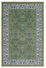 Rugs Avocado Artificial Silk 2'4 x 3'7 Bergama Pale Green