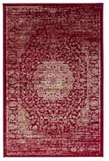 Rugs Avocado Artificial Silk 2'4 x 3'7 Garland Faded Red