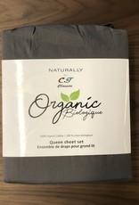 Intermark Sheets Set Intermark Organic Cotton King Charcoal