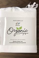 Intermark Sheets Set Intermark Organic Cotton Queen White