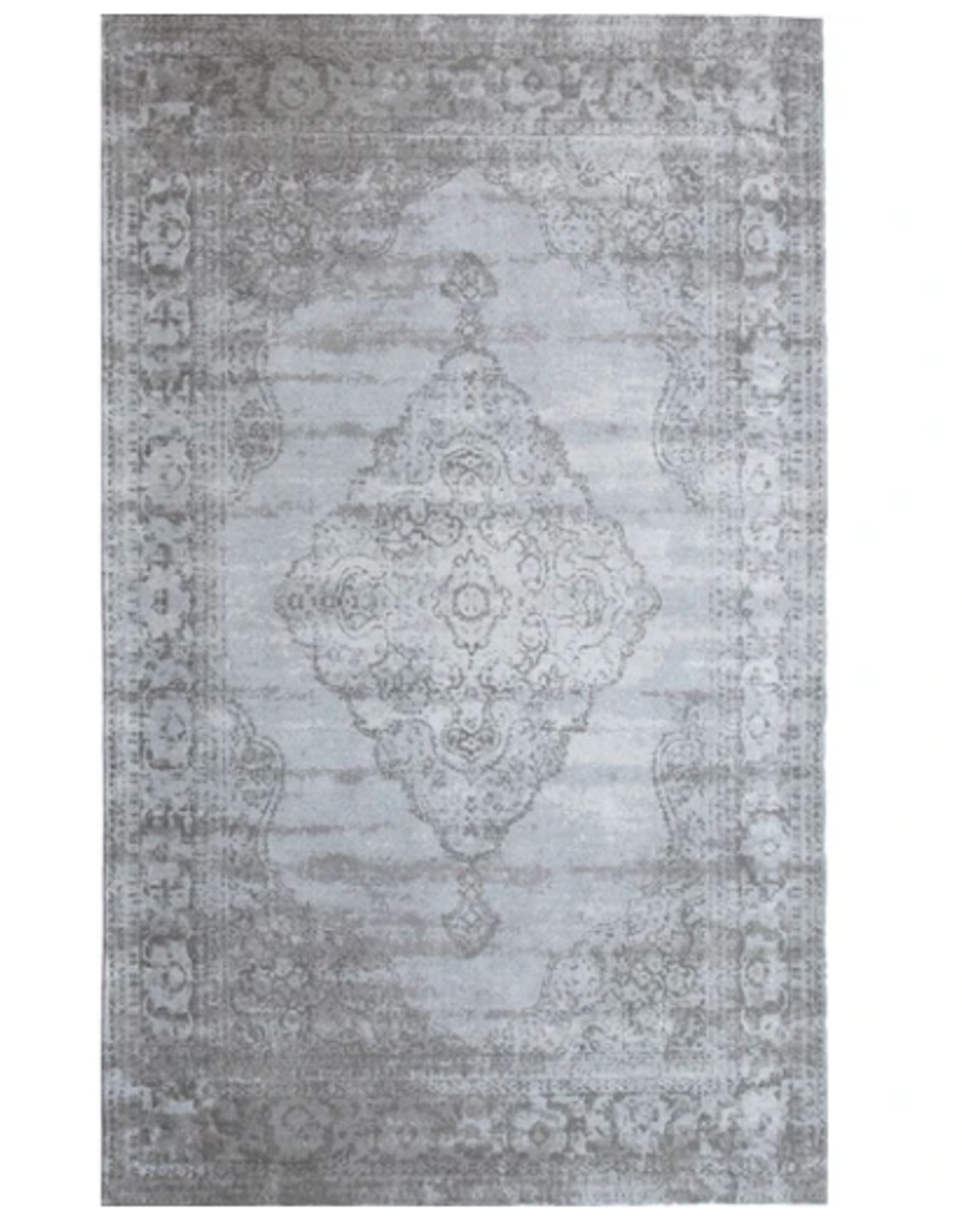 Rugs Avocado Vintage Cotton 2 x 3 Centro Dove Grey