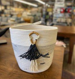 Basket PC Cotton With Fringe SM