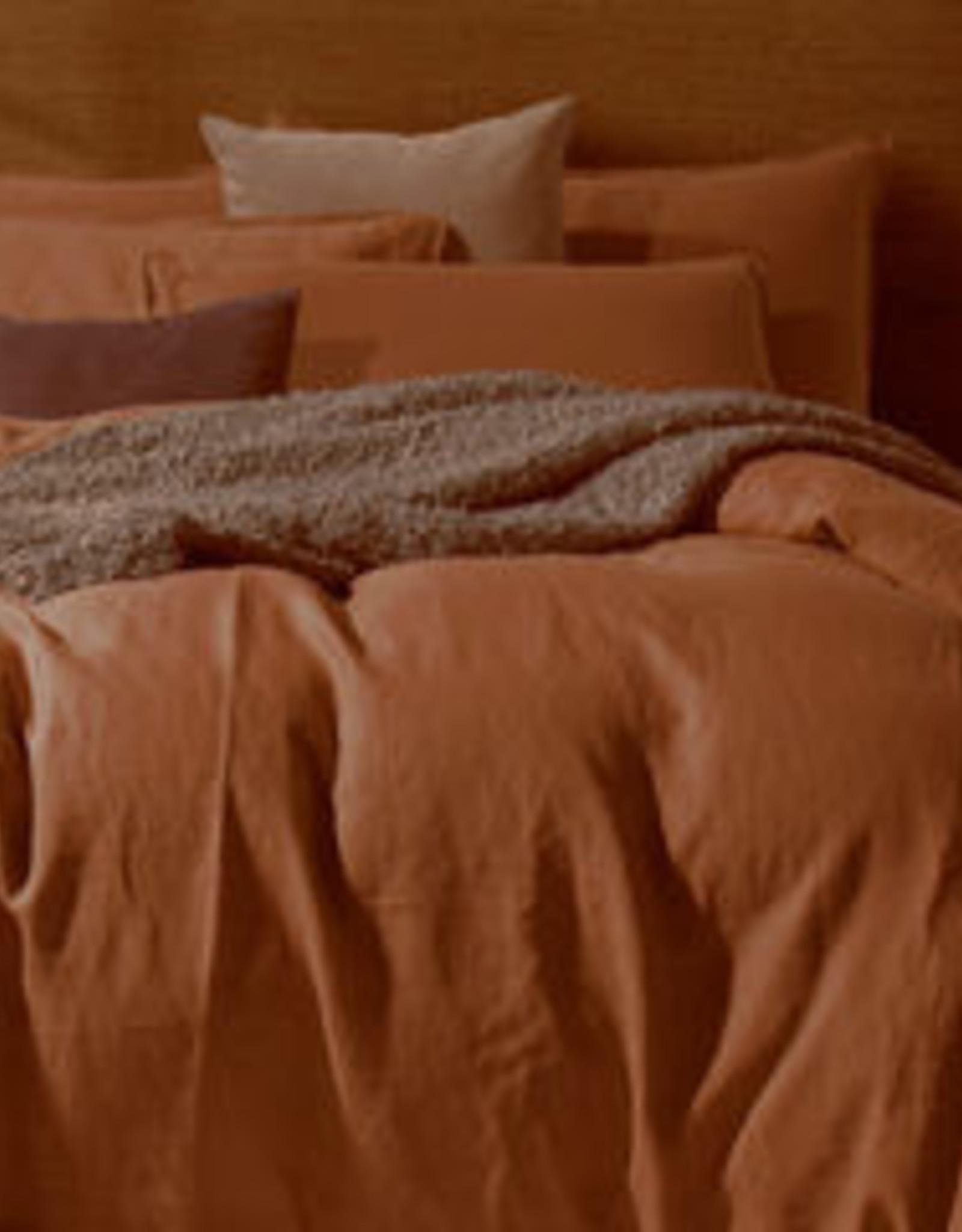 Daniadown Duvet Set Daniadown  Linen Ginger King w / Pillow Cases