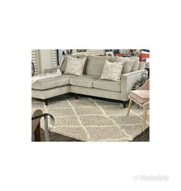 Stylus Amy Sectional Star Linen (15) Chaise Right