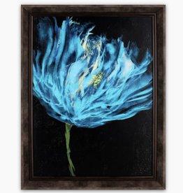 Art Northwood Framed Blue Floral TOP54B 20x26