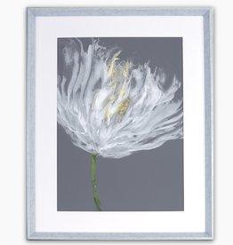 Art Northwood Framed White Flower TOP47 28 x 36