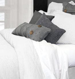 Alamode Home Sheets RJS Morgan Linen Set King White