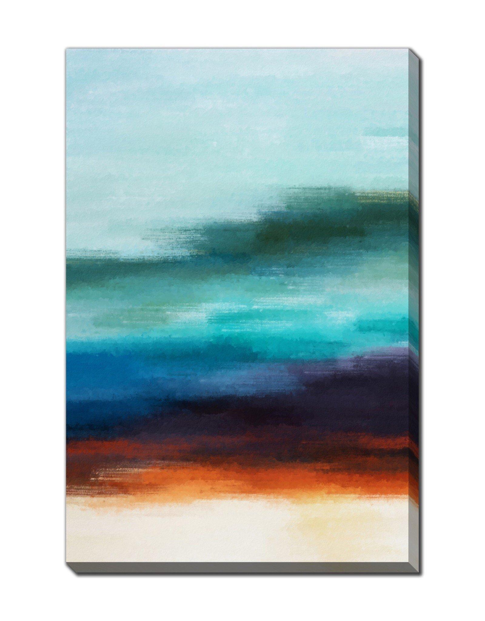 Streamline Art Abstract Waves 30 x 45