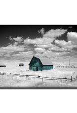 Streamline Art Aqua Barn 30 x 45
