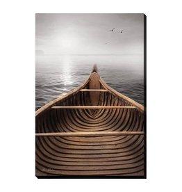 Streamline Art Canvas Canoe 30 x 45