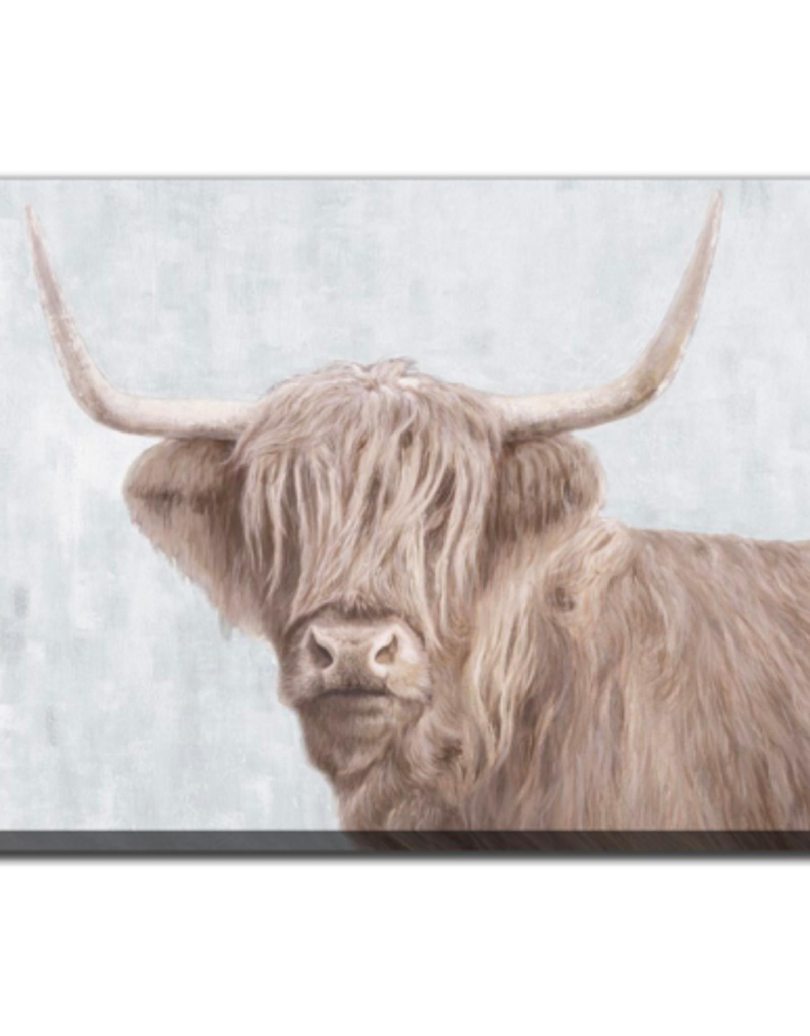 Streamline Art Highland Ox 28 x 40