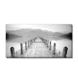Streamline Art Lake Pier 30 x 60