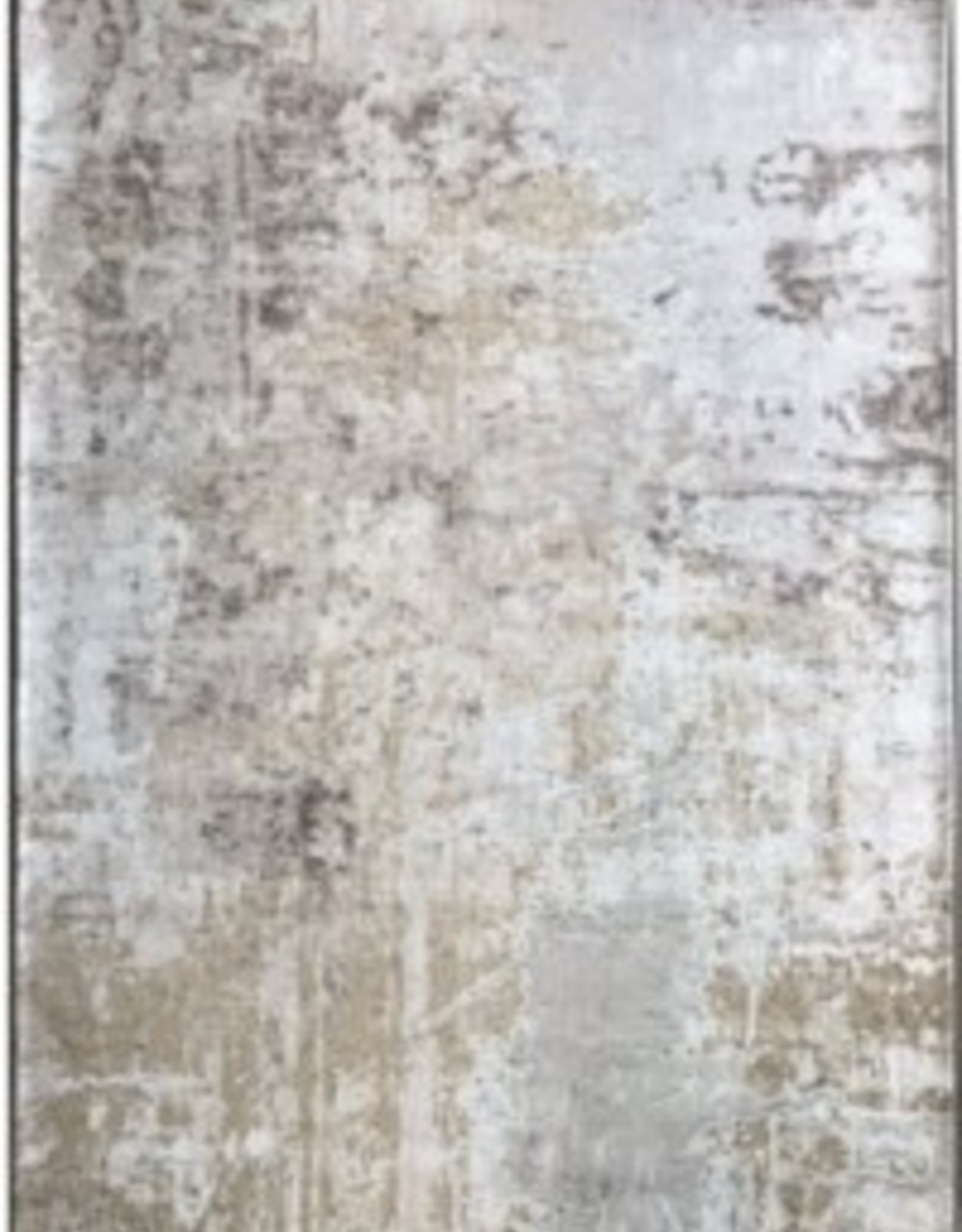 "Rugs Viana Modern Distressed Beige Grey 2'6"" x 7'6"""