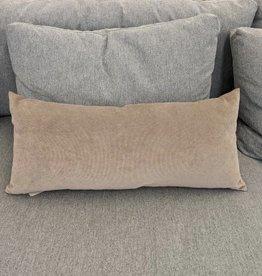 Daniadown Cushion Daniadown Dutch Velvet Taupe Toss 18 x18