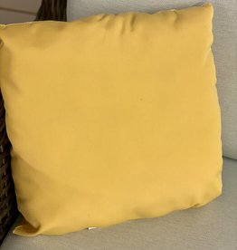 Ratana Cushions Ratana 16 inch Outdoor CU01216 Canvas Buttercup FO5137 (B)