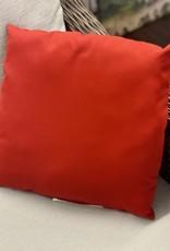 Ratana Cushions Ratana 16 inch Outdoor CU01216 Canvas Jockey Red FO5136 (B)