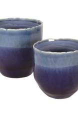 Pot Candym Blue Ceramic Large N21813