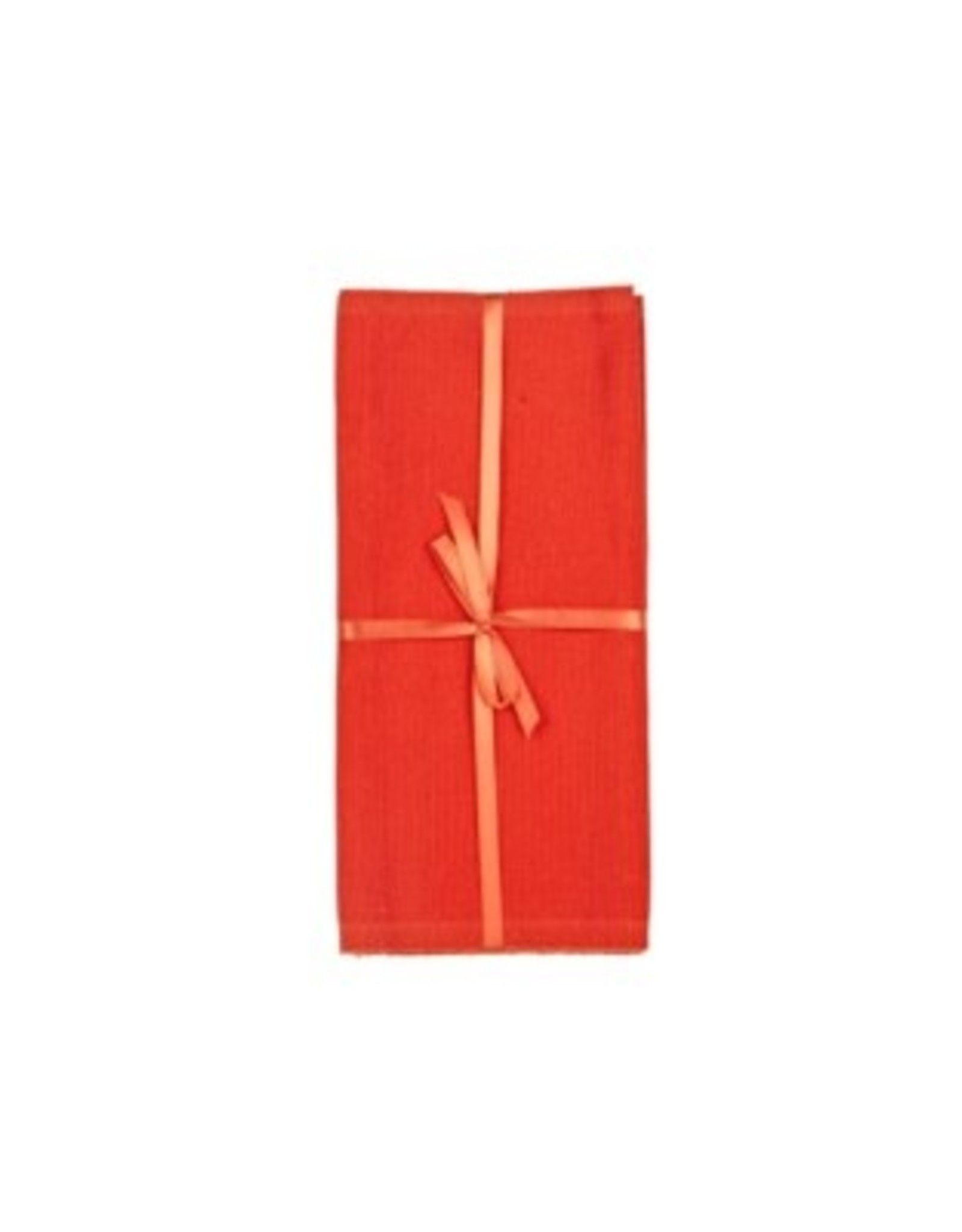 Placemat Harman Primary Ribbed Tangerine Set/4