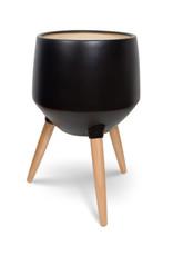 Style In Form Planter SIF Circa Base Matte Black AGW-008