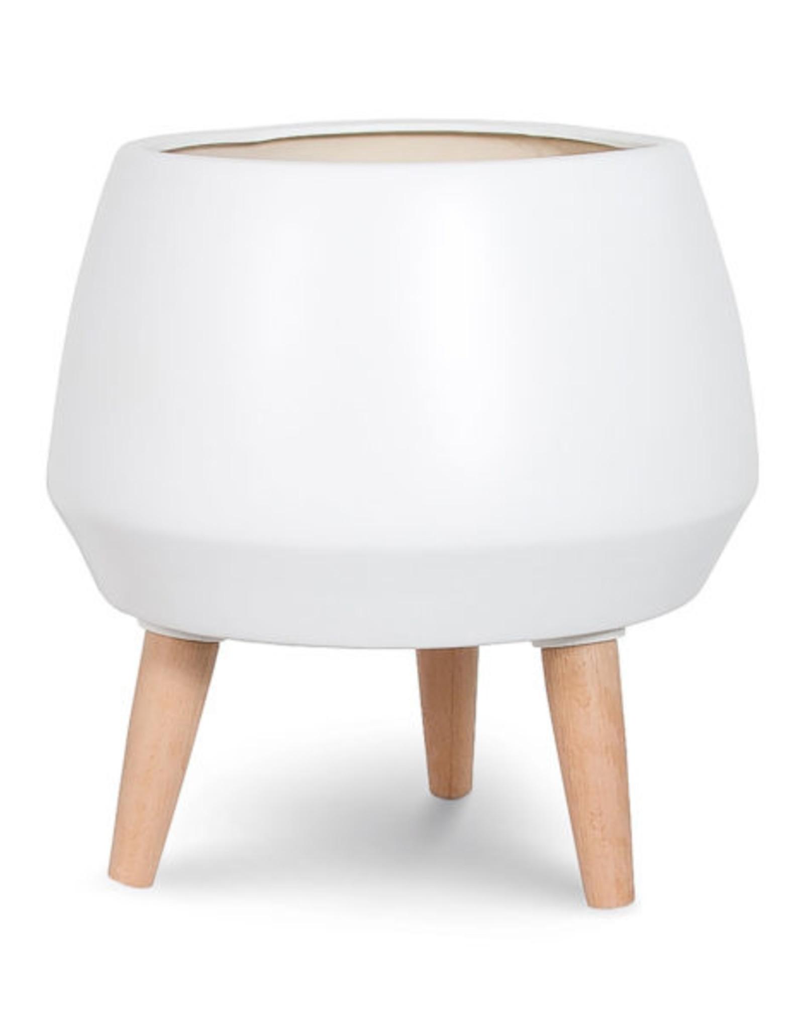 Style In Form Planter SIF Circa Pot White AGW-002