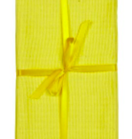 Placemat Harman Primary Ribbed Yellow Set/4