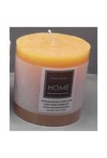 Candle Harman Rustic 4 x 4 Orange 3324416